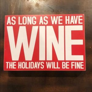 Holiday Decorative Sign